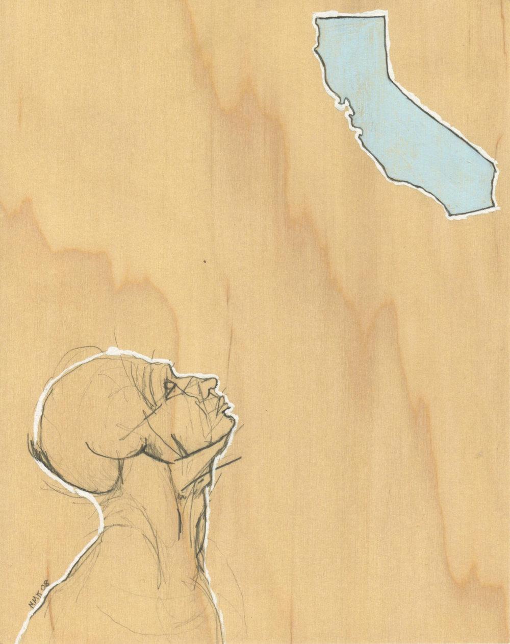 """California"" Archival Giclee Print"