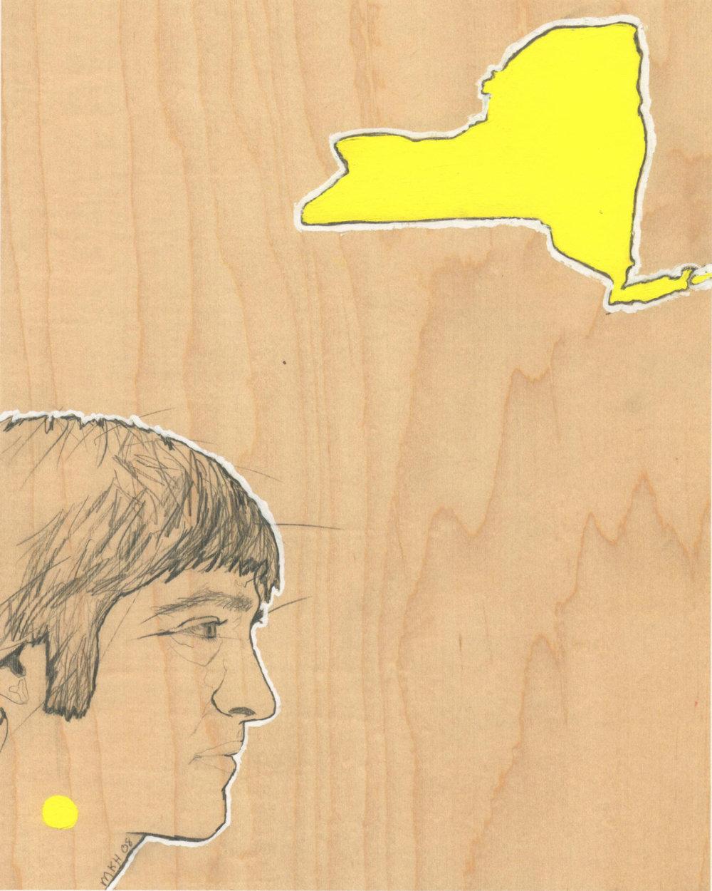 """New York"" Archival Giclee Print"