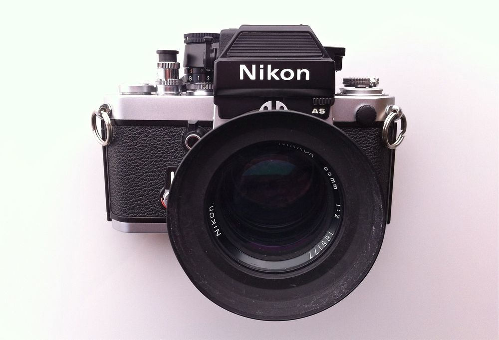 Nikon F2 with AS Metered Finder