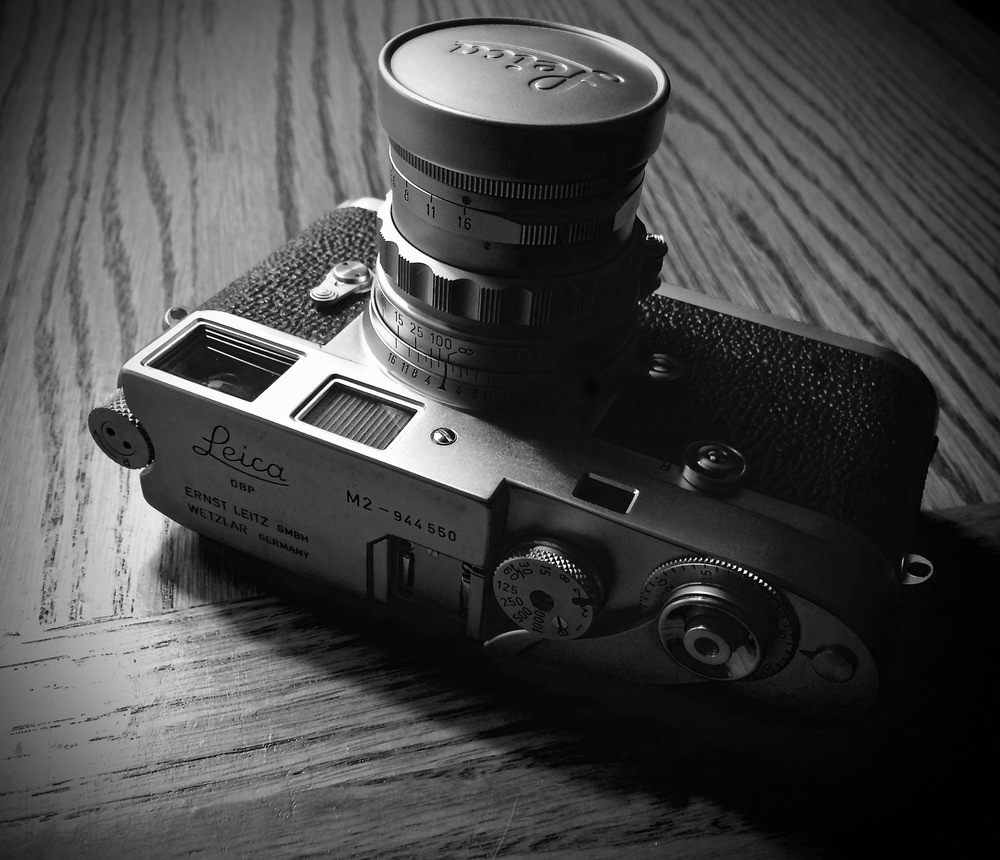 Leica M2 with 50mm Rigid Summicron