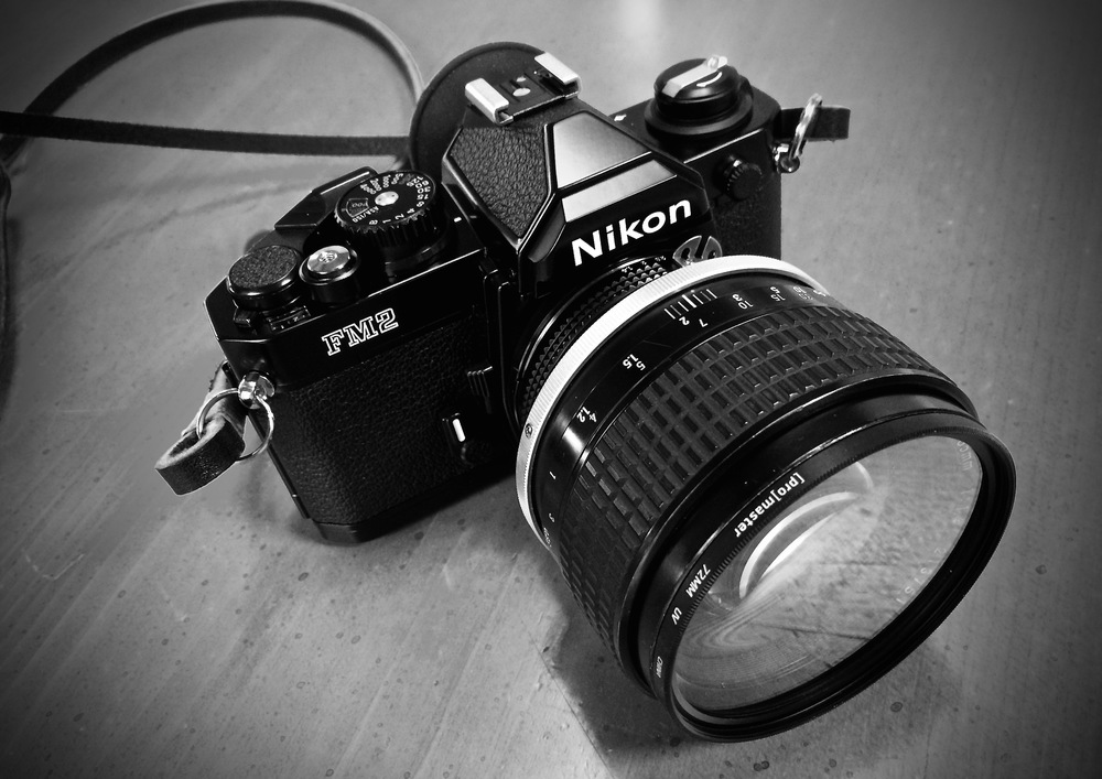 Nikon FM2N with 85mm Nikkor