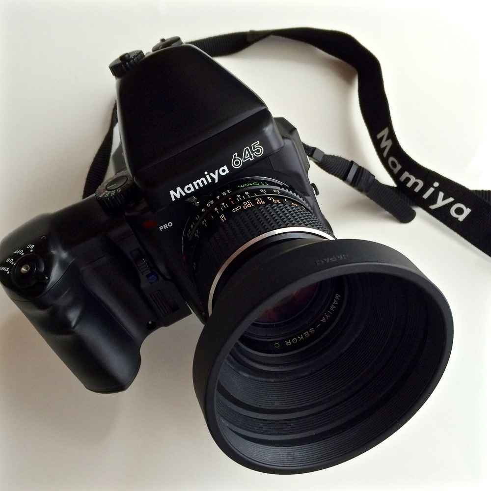 Mamiya 645Pro with Metered Finder and Power Winder