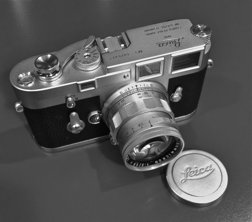 Leica M3 Single Stroke with 50 Rigid Summicron