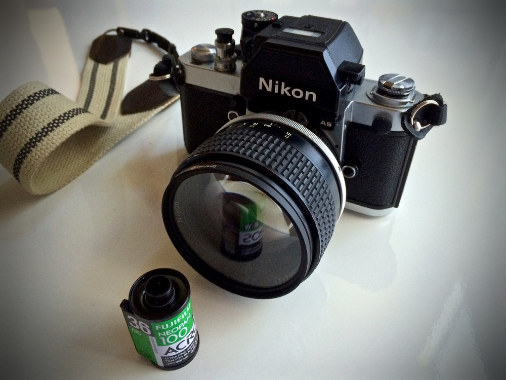 Nikon F2AS with Nikkor 85mm f/1.4 AI-s Manual Focus Lens