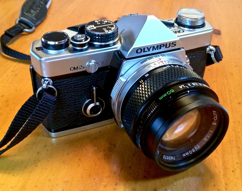 Olympus OM2n, 50mm f/1.4 Zuiko