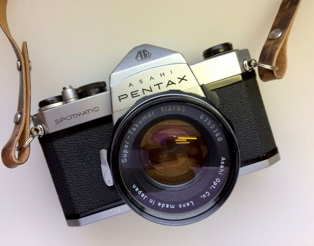 Pentax Spotmatic SP with 55mm f/2 Super Takumar