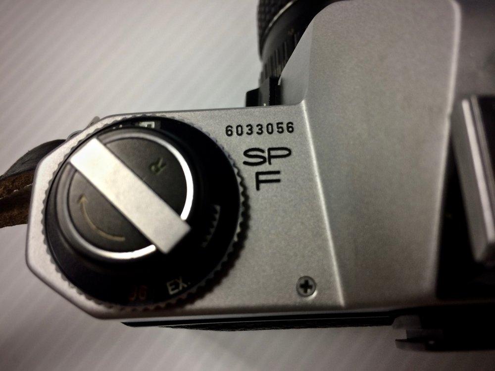 Camera serial number