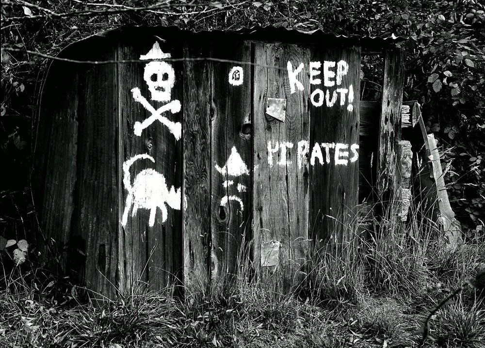 Pirate Fort/Freestone, CA/Mamiya 645Pro with 110mm lens