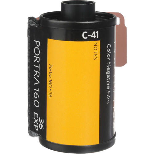 Kodak Portra 160 film/Image Courtesy of B&H Photo