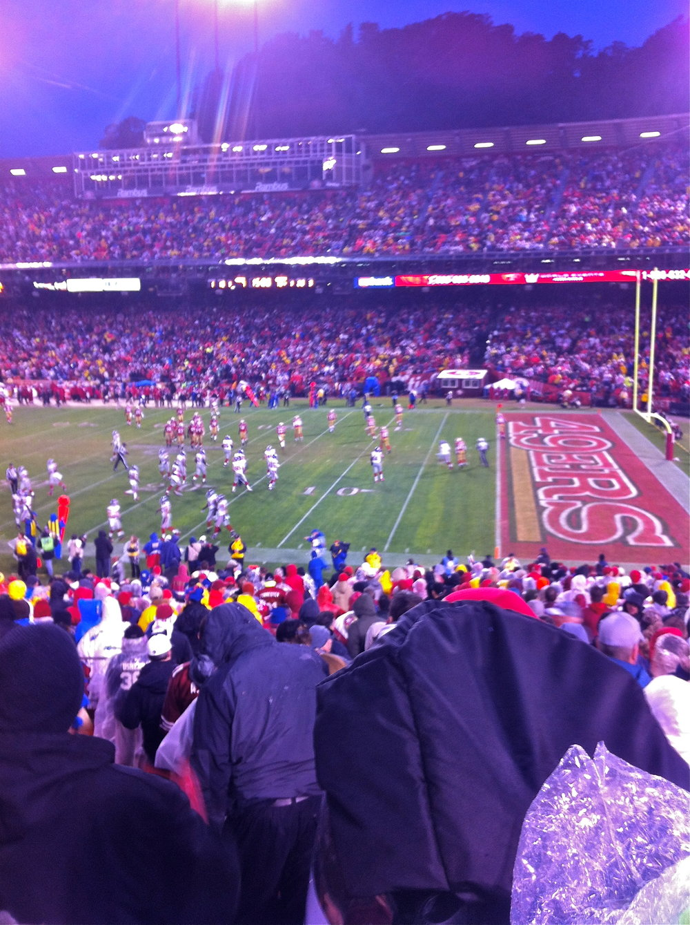 Even colder and more miserable at Candlestick