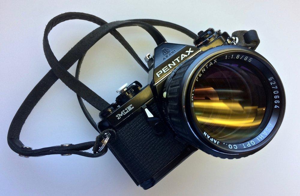 Pentax ME with SMC Pentax 85mm f/1.8