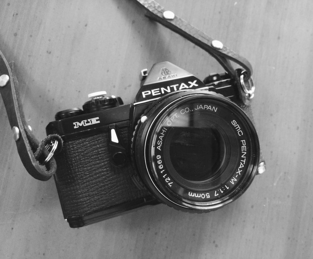 Pentax ME with SMC Pentax-M 50/1.7