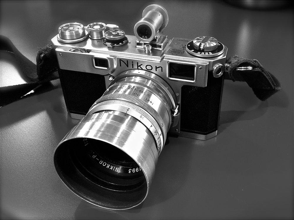 Nikon S2 Rangefinder with 8.5cm f/2 Nikkor-P lens