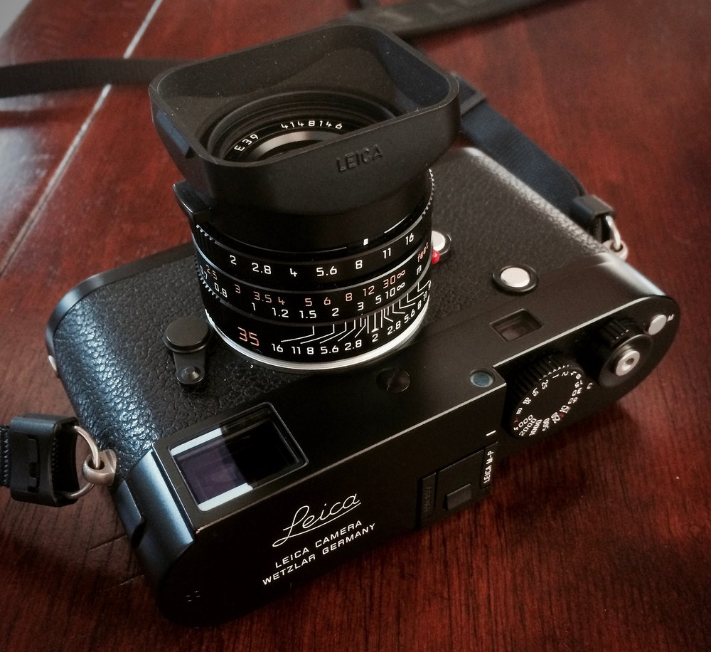 Leica M-P Typ 240 with 35mm f/2 Summicron Lens