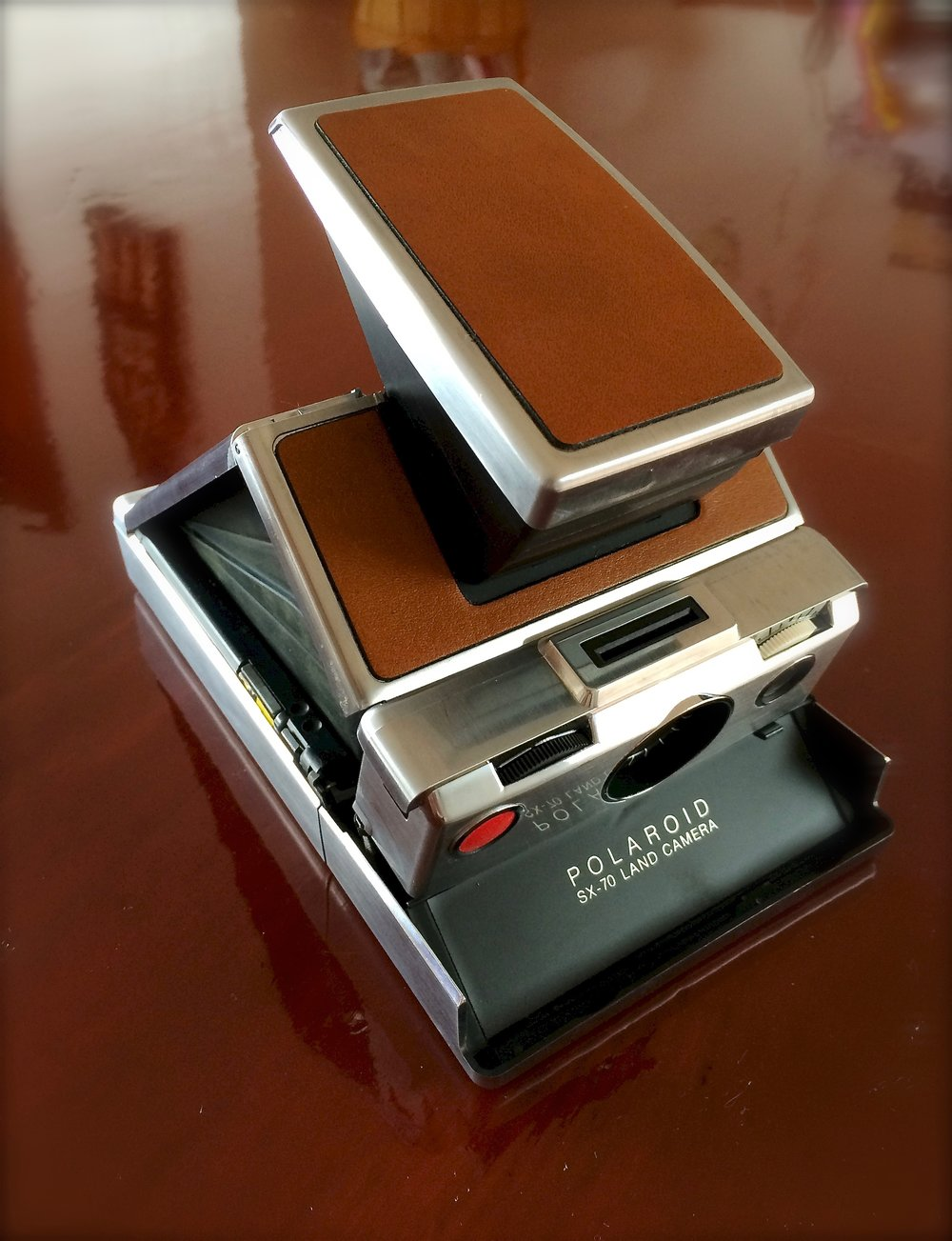 The Polaroid SX-70 Land Camera