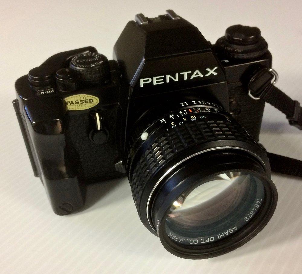 Pentax LX with SMC Pentax 50mm f/1.2 Lens