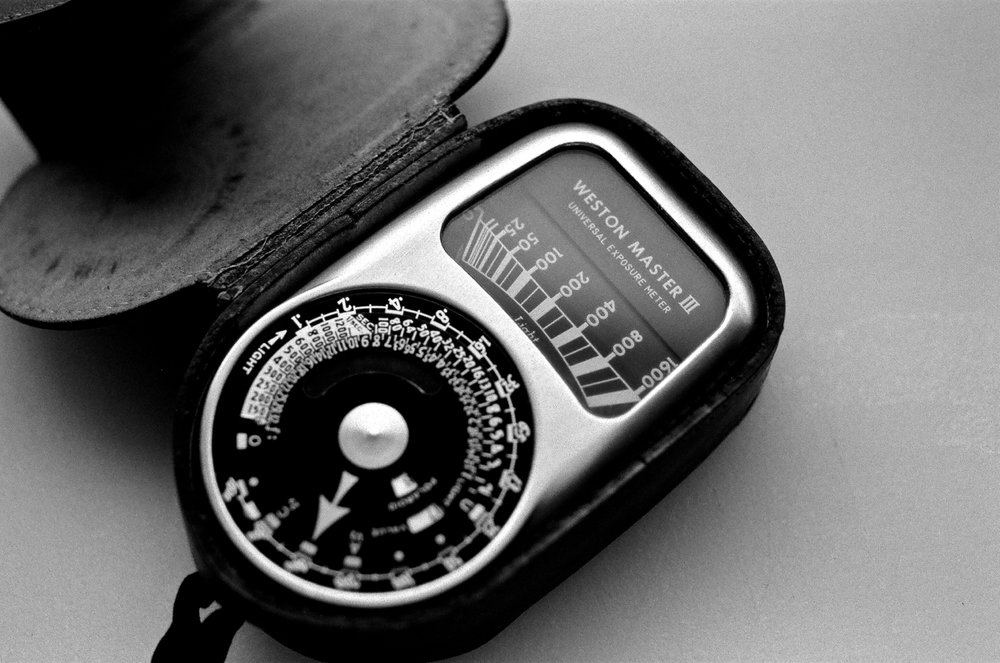 Weston Master III shot with Nikon F2 and 55mm Micro-Nikkor