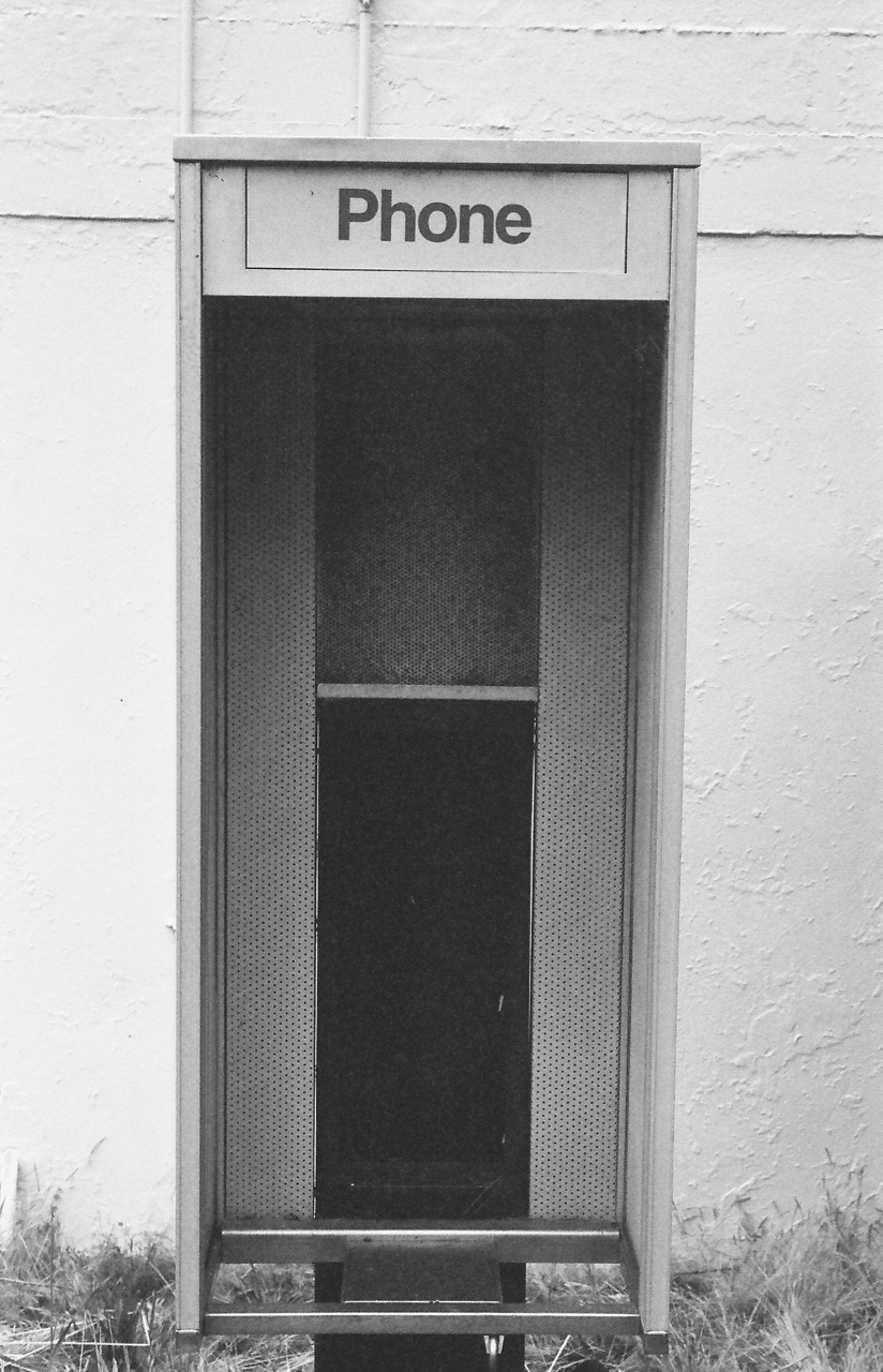 PacBell phone booth at KPH