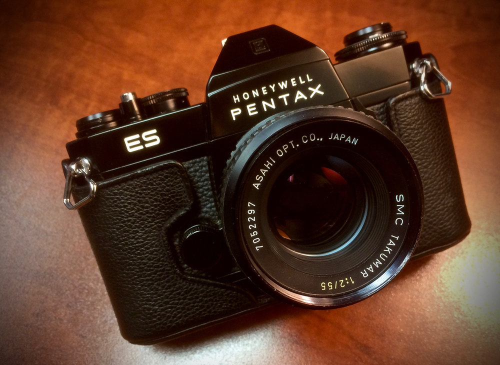 Pentax ES with SMC Takumar 55mm f/2