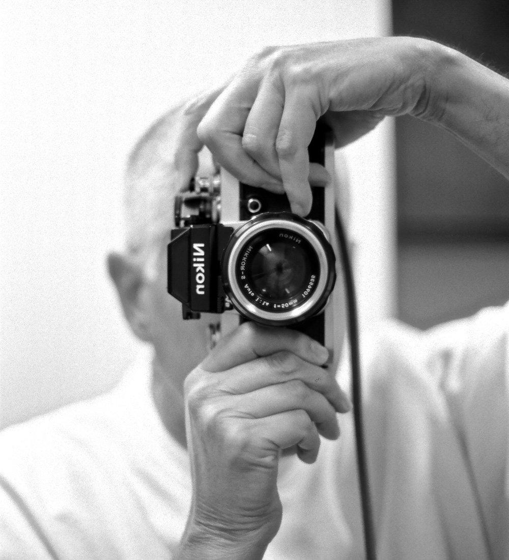 Nikon F2AS Vertical Shot