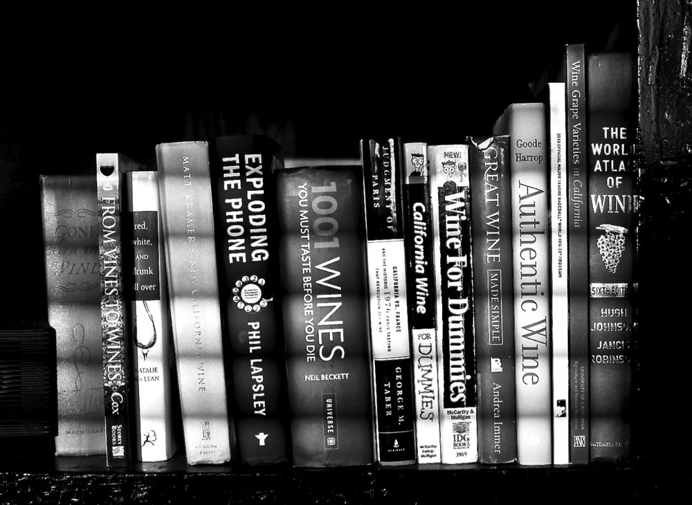 Bookshelf, January 7, 2015 shot with the Contax RX, 50mm f/1.7 Zeiss Planar on Tmax 100