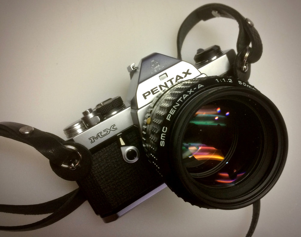 Pentax MX - Basic & Beautiful!