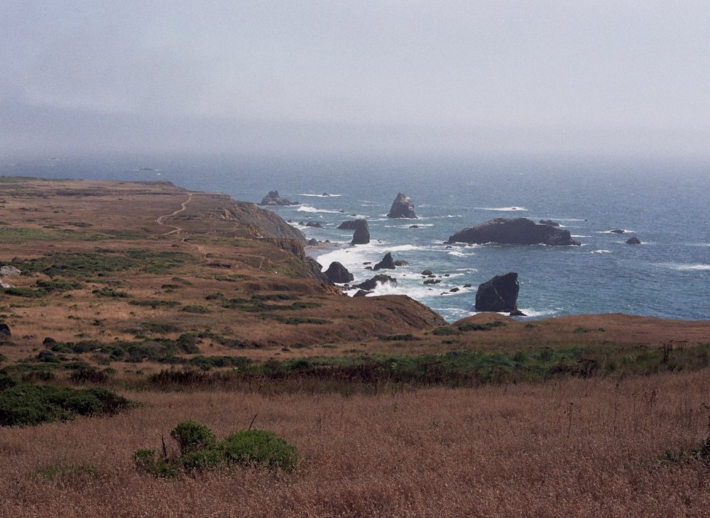 What I love about Northern California, almost the entire coast is protected and open to all!