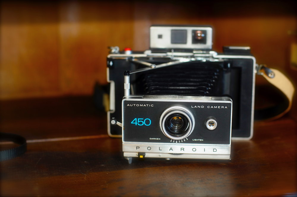 Polaroid 450 Land Camera