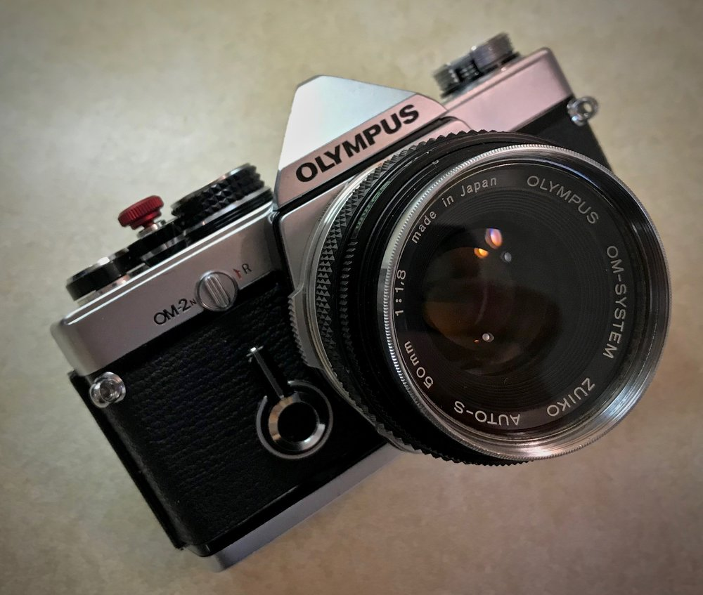 Olympus OM-2n with 50mm f/1.8 Zuiko