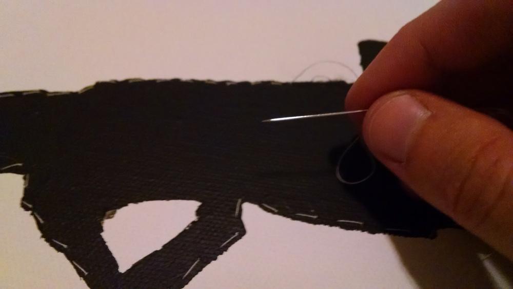 Adding stitching
