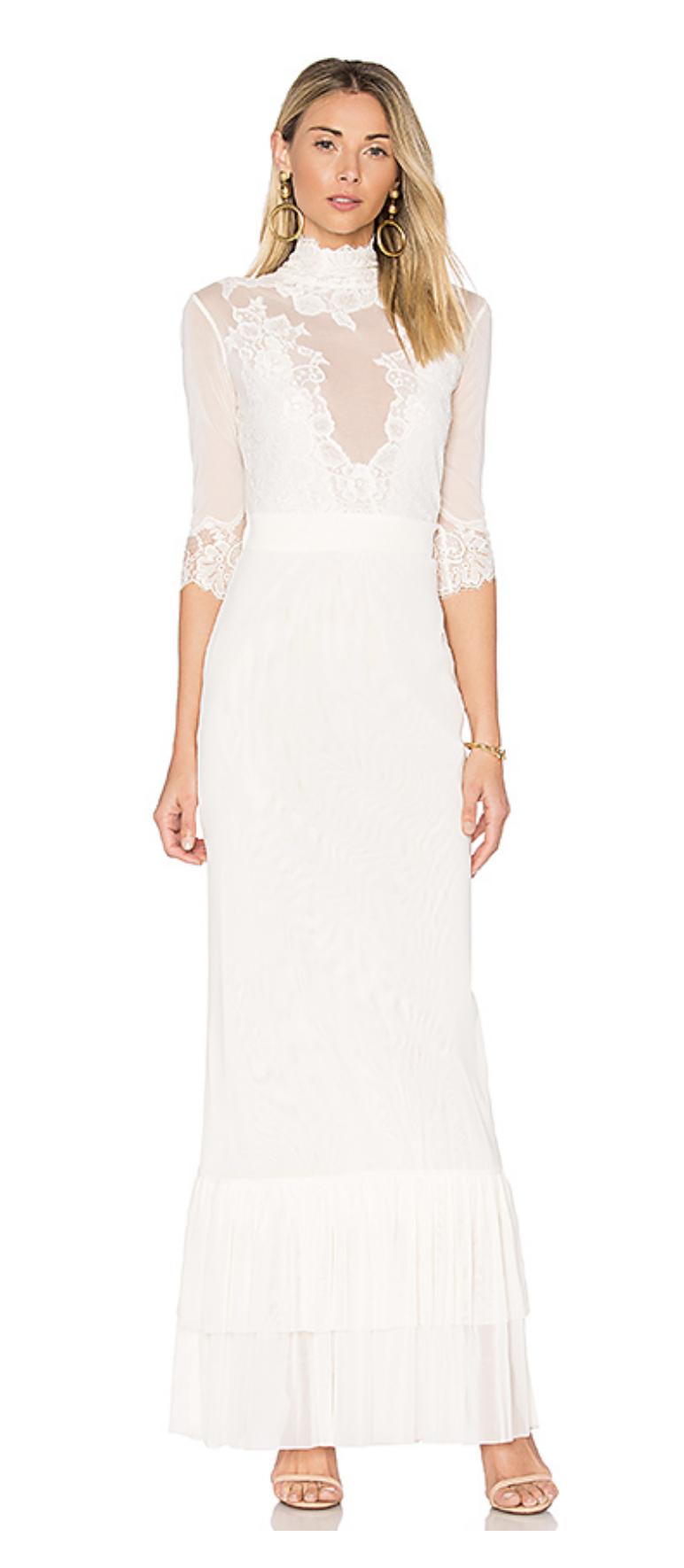 0b2269e83ff Asos Bridal Beach Lace Maxi Dress - Gomes Weine AG