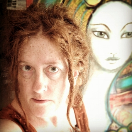 one of my favorite photos yet it is me, over two years ago, in 2014, when I still had dreadlocks forming. I really must update my photo.