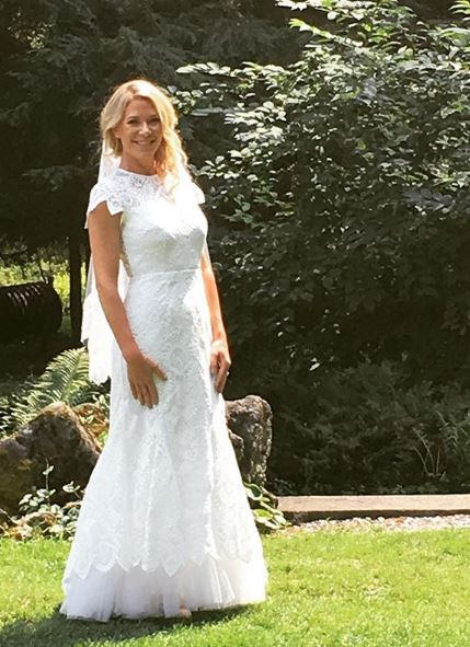 Custom bridal staci snider amys dress in upstate new york junglespirit Choice Image