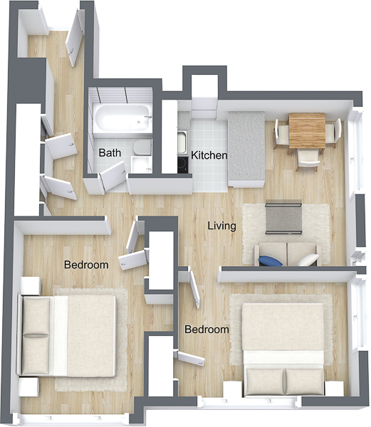 The Pinnacle - Chancellor - 3D Floor Plan.jpg