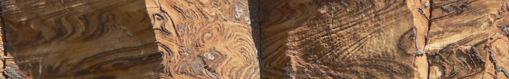 curvilinear folds in dolomite, Damaraland, Namibia