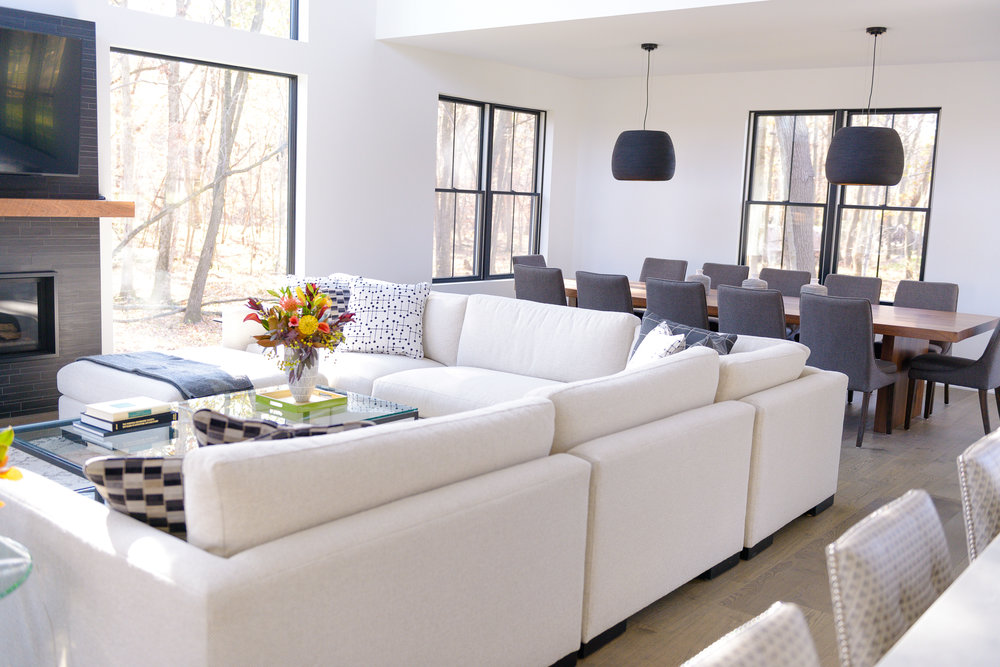 Home Tour: Natural Light And Modern Lines In A Beautiful New House U2014 Meghan  Blum Interiors