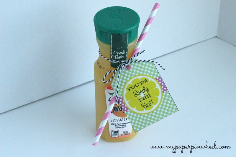 diy teacher appreciation gift idea you re simply the best hey thuy