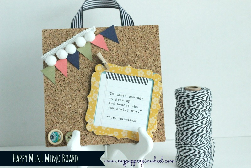 Happy Mini Memo Board