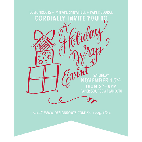 hoiday event flyer
