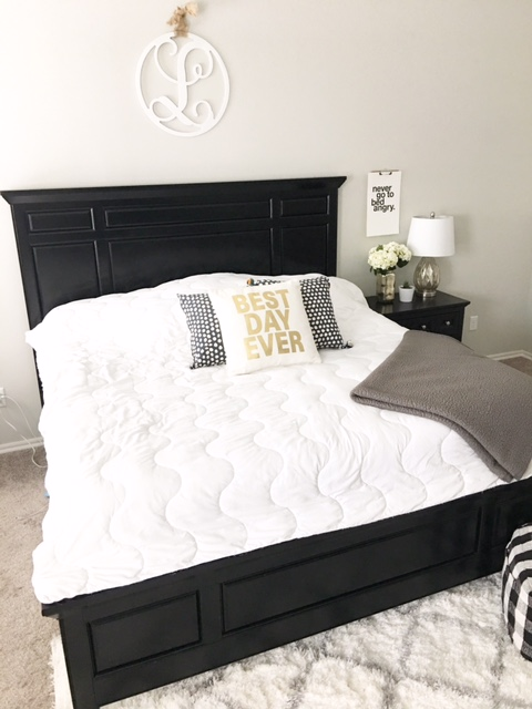 I Wanted To Keep The Decor In Our Master Bedroom Simple And Minimal I Always Felt That The Master Bedroom Should Be A Relaxing Environment And I Did Not