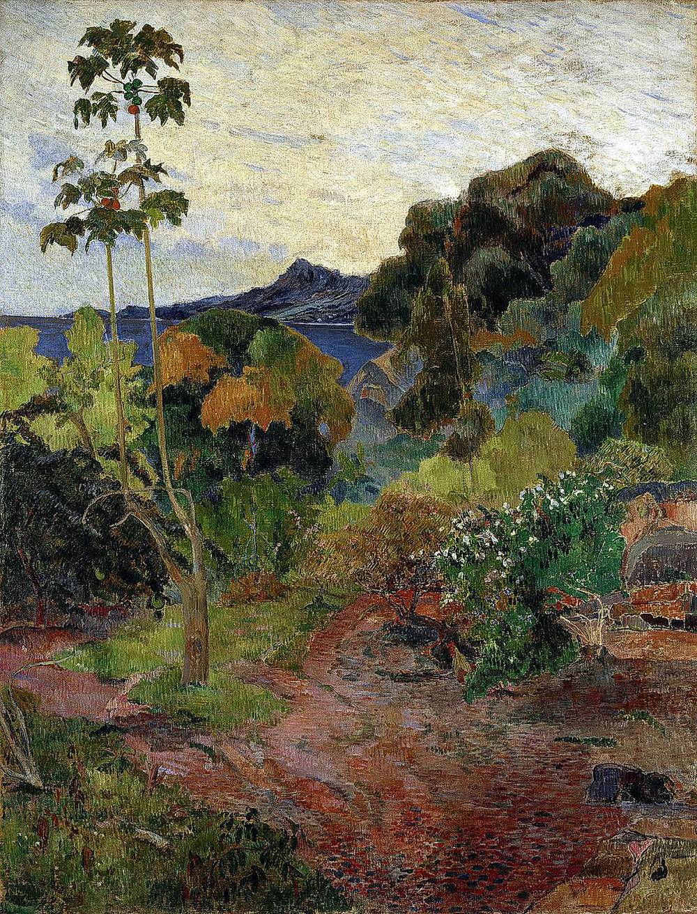 Martinique Landscape 1887 Paul Gauguin