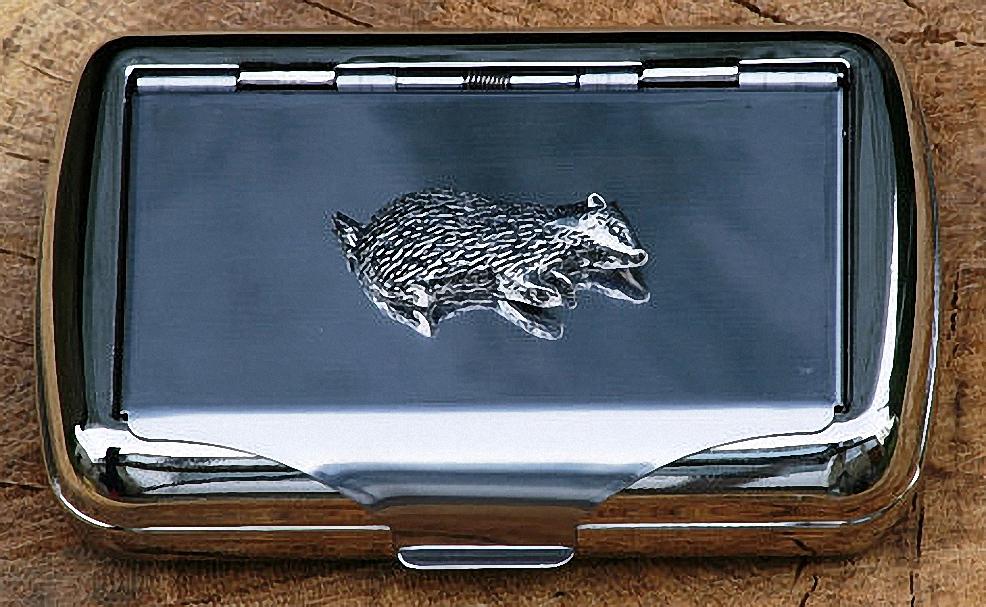 Figure 1 - The Badger Cigarette Case
