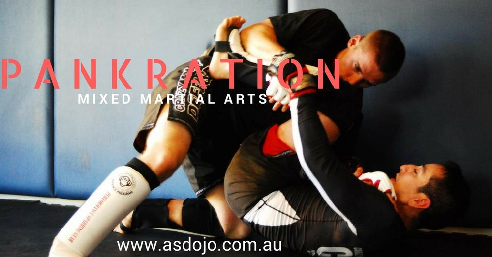 Come and try out our fully graded Mixed Martial Arts program (Pankration).Your first lesson is on us! - Our MMA program is based in the style of Pankration which literary means