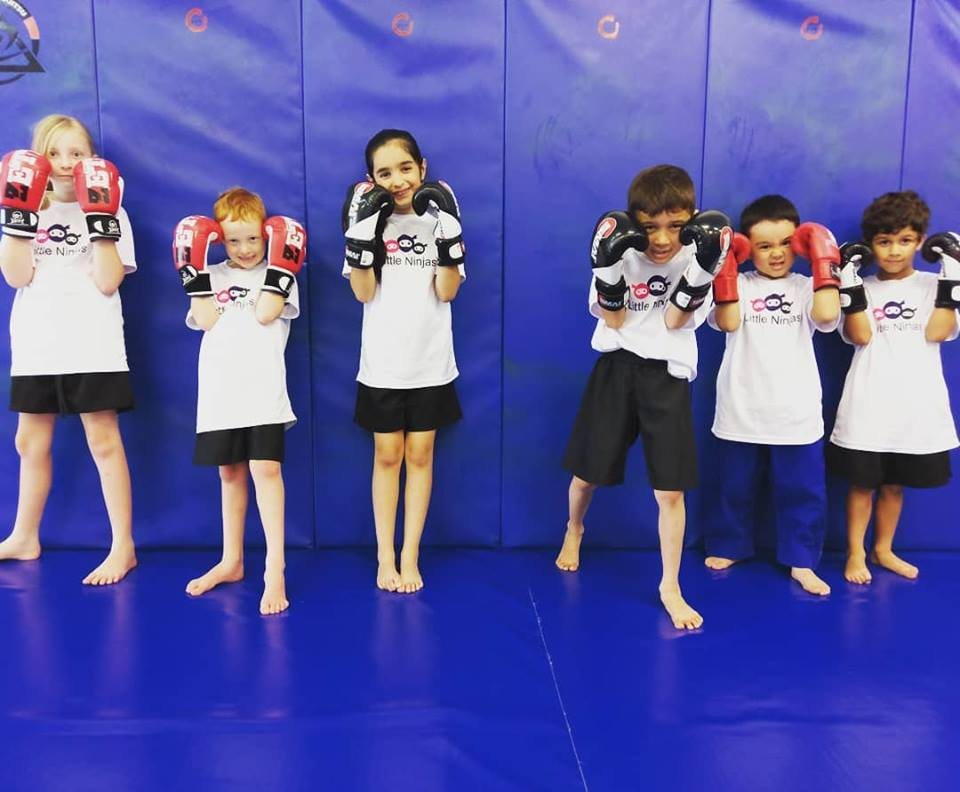Little Ninjas Program - Our kids martial arts program is in the style of Pankration, which combines techniques and concepts from Kickboxing, Wrestling and Brazilian Jiu Jitsu.PankrationSaid to have been practiced by mythological figures such as Hercules and Theseus comes from the acient Greek words