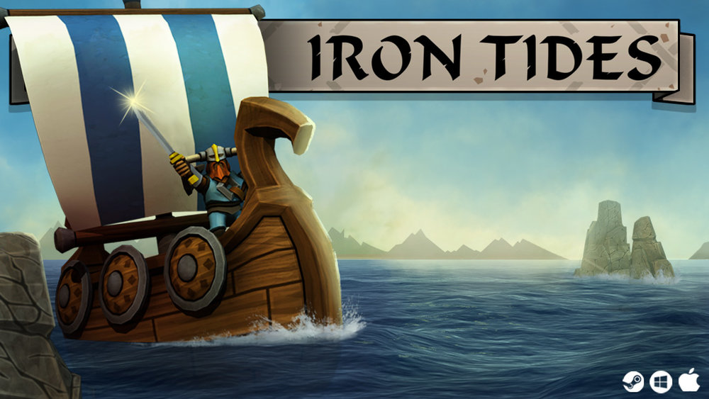 Iron Tides is now in Early Access on Steam! Find it  here .