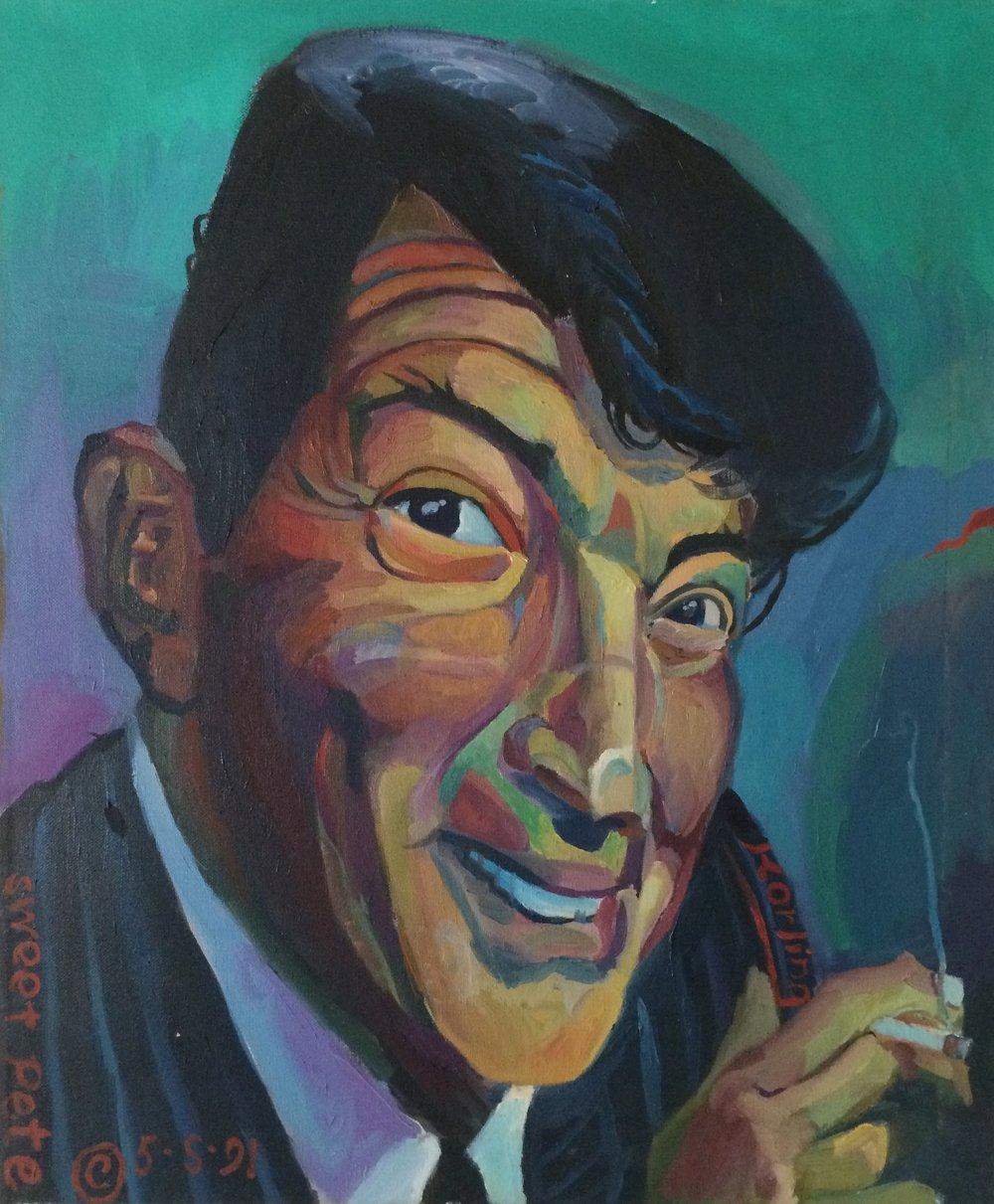 Dean Martin  20x24 oil on canvas