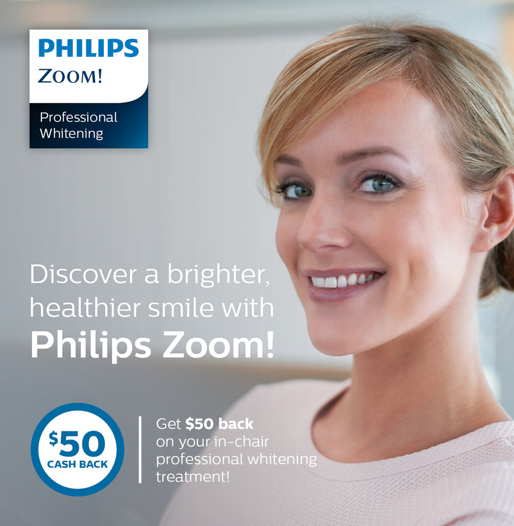 Philips Zoom in-office teeth whitening Bondi Junction promotion offers