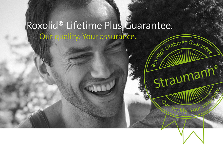 Straumann implant lifetime guarantee