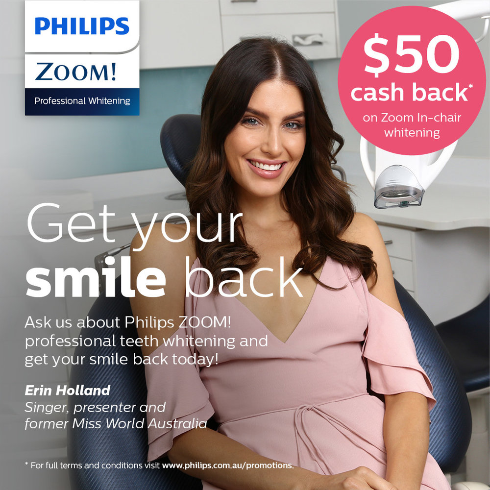Zoom teeth whitening Bondi Junction promotion special
