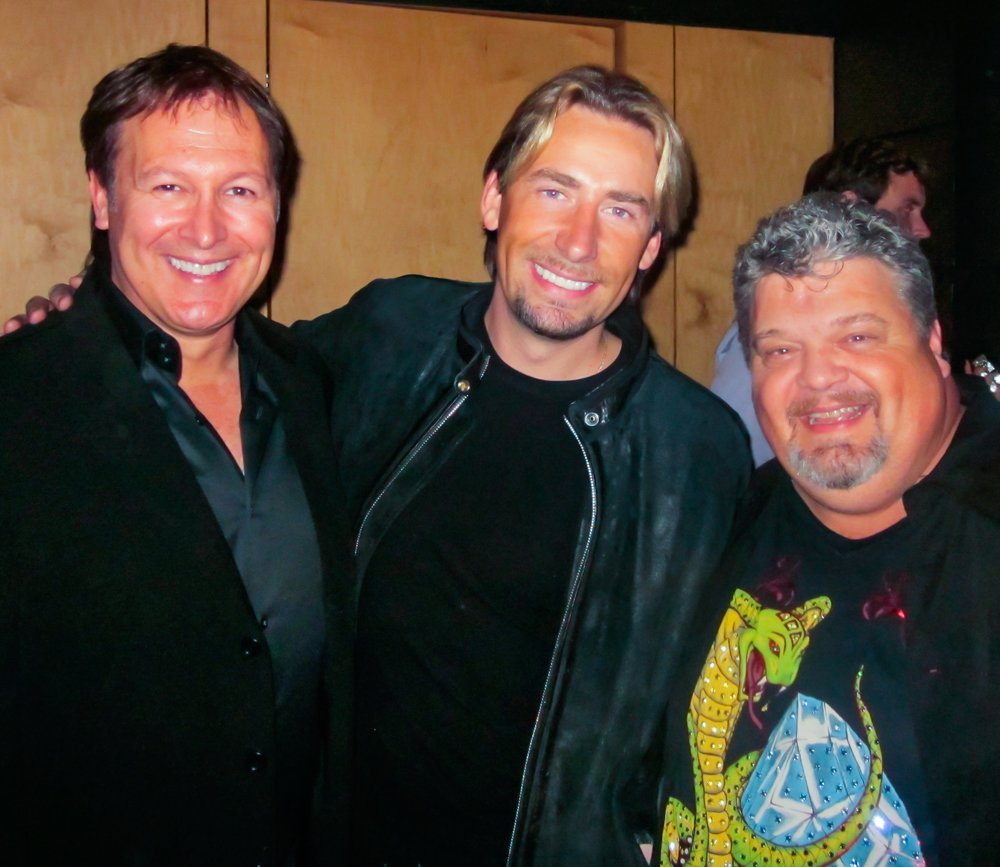 Tim, Chad Kroeger, and Craig Wiseman